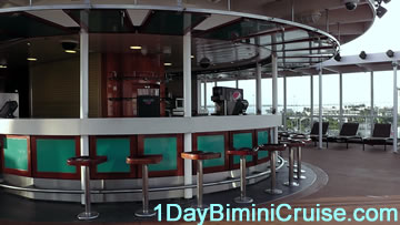 1 day Bimini cruise outdoor bar and dance club Bimini